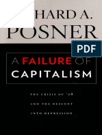 POSNER, Richard. a Failure of Capitalism