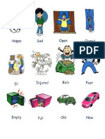 Adjetivos Imagenes Ingles Español