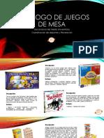 Catalogo Juegos Mesas 2017