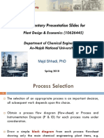Plant Design_Process Selection