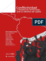 Conflictividad y resistencias territoriales ante la ofensiva del capital