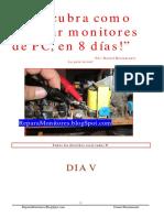 Descubra como reparar monitores de PC, en 8 dias, DIA V.pdf