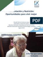 Alimentación y Nutrición Oportunidades Para Vivir Mejor