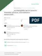 Interacciones Institucionales Cuenca Caroni