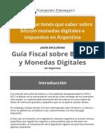 Guía Fiscal para Bitcoin y Criptomonedas en Argentina - Ichimoku Fibonacci