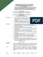 Sk Tugas Pramuka Pengurus 2014-2015