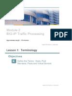 F5 - Module 2 Traffic Processing