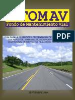 Guía Para Elaboración de Informe Ambiental Seguridad Vial e Higiene Ocupacional FOMAV 2014
