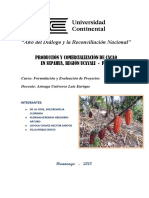 PROYECTO - Produccion y Comercializacion de Cacao