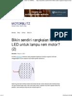 Bikin Sendiri Rangkaian Lampu LED Untuk Lampu Rem Motor_ (2) _ MOTORBLITZ