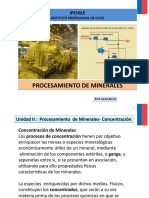 Procesamiento de Minerales II