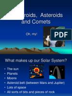 Meteroroids-Asteroids-Comets.ppt