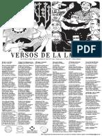 """Lira Popular """"Versos de la Laguna"""" N°4"""