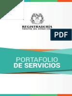 Portafolio de Servicio 01