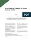 Los postulados de la Ontologia del lenguaje de Rafael Echeverria.pdf