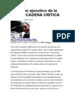 Cadena Critica 2