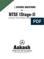 NTSE Social Science Question Bank UttarPradesh