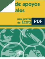 Guía de apoyos federales para proyectos de ecoturismo