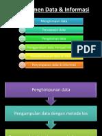 Manajemen Data & Informasi
