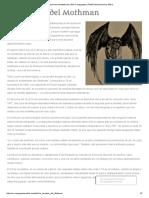 La Leyenda Del Mothman _ Wiki Creepypasta