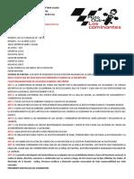 Reglamento Interno Motoclub Séptima Valida