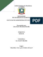 Glosario Administración De Empresas