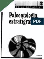 Tratado de Geolog a - Paleontolog a, Estratigraf a 2
