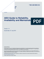 Guide to Reliability Maintainability and Availability_NSW