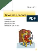 Manual Tipos Apertura Ajedrez