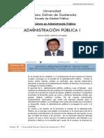 Administracion con objetivos publicos