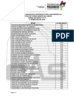 5 Resultado Das Inscrições Deferidas Em Ordem Alfabetica - Noturno 3ª e 5ª