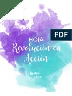 Hoja de Revolucion en Accion Luana Mor