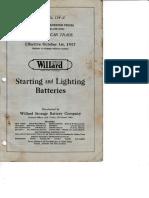 Willard Trade 1917
