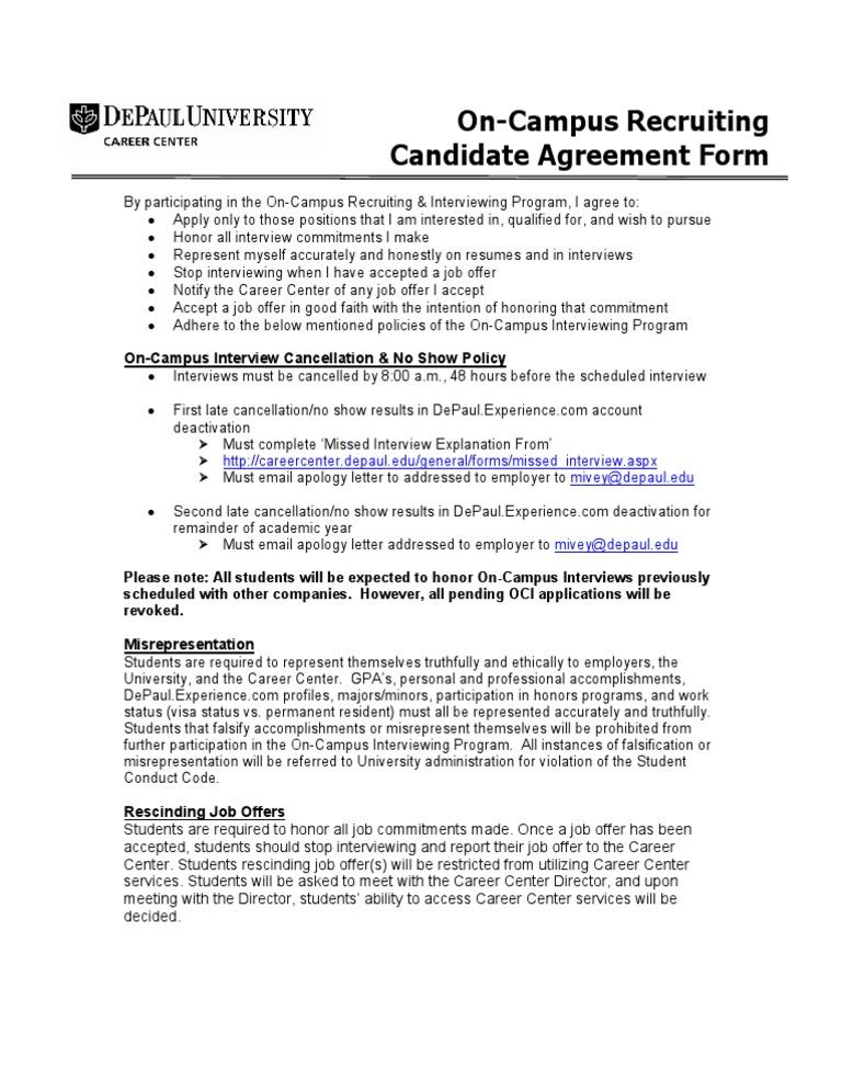 rescinding a job offer