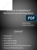 Strut and Tie Modelling of Reinforced Concrete Deep - Copy