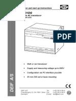 TAS-331DG Installation Instructions 4189300008 UK