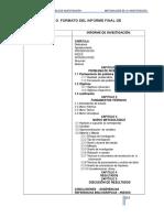 Estructura Informe de Investigacion(Upn)