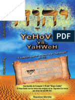 Yehovah vs Yahweh Final