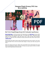Red Velvet Dianggap Plagiat Konsep 2NE1 Dan BLACKPINK