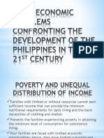 Basic Economic Problems Confronting the Development of The