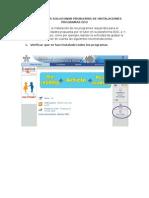 CONSEJOS PARA SOLUCIONAR PROBLEMAS DE INSTALACIONES PROGRAMAS EDO