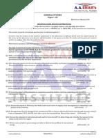 General Studies Paper 3 (2013)