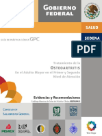 Guía de practica clínica  Osteoartritis
