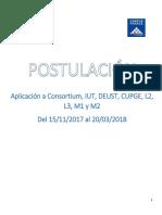 Guía - Master L2 y L3 IUT - 16 nov 2017