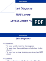 Stick Diagrams Layers Layouts
