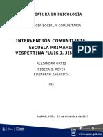 Proyecto-intervencion comunitaria