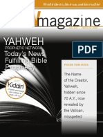 7-2017-PW - Yahweh is the Creator's Name