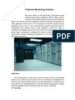UPS Remote Monitoring Solution.docx