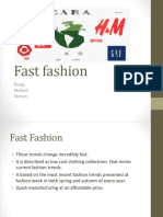 Fast Fashion PPT