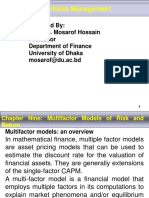 Chapter - 9 Multifactor Models